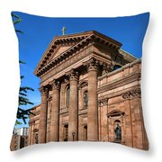 Cathedral Basilica Of Saints Peter And Paul Throw Pillow