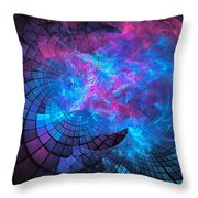 Cathedral Calamity Throw Pillow