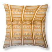 Cathedral Ceiling Throw Pillow