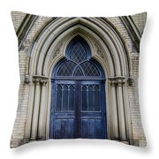 Cathedral Church Of St James 1105 Throw Pillow