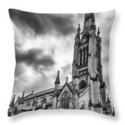 Cathedral Church Of St James 1106b Throw Pillow
