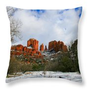 Cathedral Sugar Throw Pillow