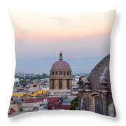 Cathedral Dome And City Throw Pillow