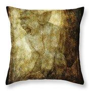 Cathedral Gargoyle Throw Pillow