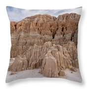 Cathedral Gorge Morning Throw Pillow