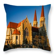 Cathedral Helena Montana Throw Pillow