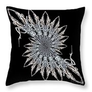 Cathedral Ice Throw Pillow