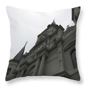 Cathedral II Throw Pillow