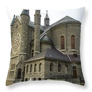 Cathedral In Buffalo Throw Pillow