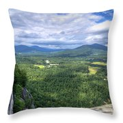 Cathedral Ledge View Throw Pillow