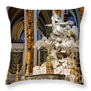Cathedral Of Chartres Altar Throw Pillow