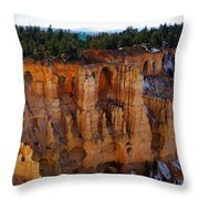 Cathedral Of God Throw Pillow