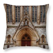 Cathedral Of Saint Joseph Throw Pillow