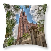 Cathedral Of St. John Throw Pillow
