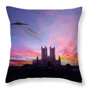 Cathedral Pass  Throw Pillow