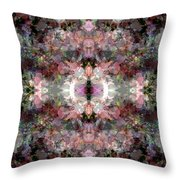 Cathedral Petals Throw Pillow