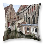 Cathedral Reflection Throw Pillow
