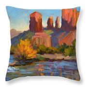 Cathedral Rock 2 Throw Pillow