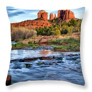 Cathedral Rock II Throw Pillow