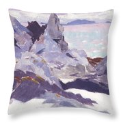 Cathedral Rock  Iona Throw Pillow