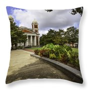 Cathedral Square And Church Throw Pillow