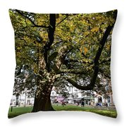 Cathedral Square - Exeter Throw Pillow