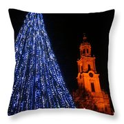 Cathedral Square  Throw Pillow