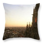 Cathedral Sunset - La Plata Throw Pillow