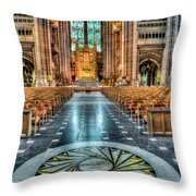 Cathedral Way Throw Pillow