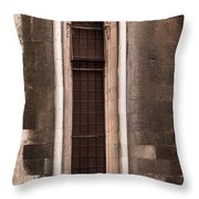 Cathedral Window Throw Pillow