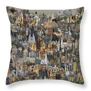 Cathedri Throw Pillow