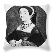 Catherine Howard (1520-1542) Throw Pillow