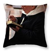 Catholic Priest Throw Pillow