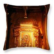 Catholic Tabernacle  Throw Pillow