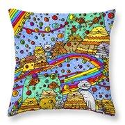 Catnip Dreamzzzs Throw Pillow
