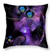 Cats 006-13 - Marucii Throw Pillow