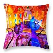 Cats 0366 Marucii Throw Pillow