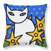 Cats 2 Throw Pillow