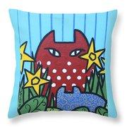 Cats 3 Throw Pillow
