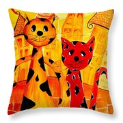 Cats 650 Throw Pillow