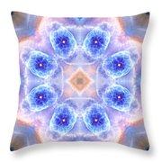 Cats Eye Nebula V Throw Pillow