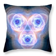 Cats Eye Nebula Vi Throw Pillow