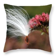 Caught In Flight Throw Pillow