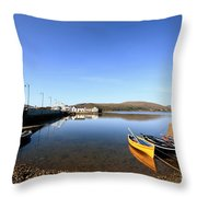 Causeway To Achill Throw Pillow
