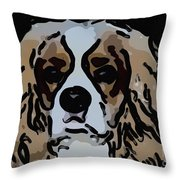 Cavalier Spaniel Throw Pillow