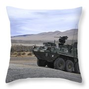 Cavalry Troopers Fire Throw Pillow