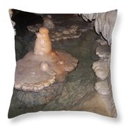 Cave Formations 52 Throw Pillow