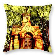 Cave Hill Haunting Throw Pillow