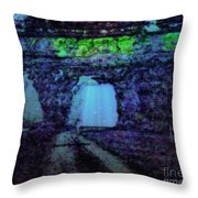 Entering The Dream State Throw Pillow