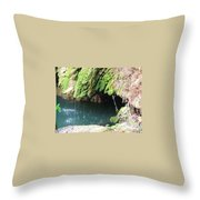 Cave Kisses Throw Pillow